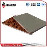 Materiale composito di alluminio della decorazione della costruzione di comitato (AF-406)