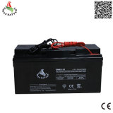 12V 65ah nachladbare Batterie Leitungskabel-Säure AGM-VRLA für Solar