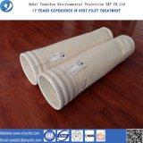 Sacchetto filtro non tessuto composto di PPS del collettore di polveri per la pianta dell'asfalto della miscela