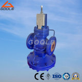 Válvula de diminuição da pressão do aço inoxidável/aço de carcaça (GADP17)