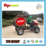 Груз механически малой светлой обязанности серии Topall миниый наклоняя транспортер колеса сада Dumper с подъемом