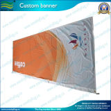 Bandeira de bandeira exterior de poliéster de impressão personalizada ecológica (B-NF02F06023)