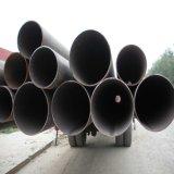Tubo de acero en la sección redonda