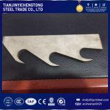 Piatto d'acciaio spesso con i servizi di taglio