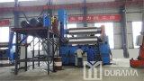 Máquina de rolamento hidráulica da placa de aço dos rolos W11X-50/3000 3