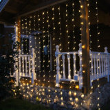 3x3m 110V LED Kerstmis Wedding Curtain Light