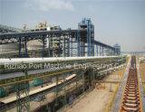 SPD-Gummibandförderer-System für den Materialtransport