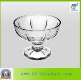 テーブルウェアKbHn0143のための円形の整形アイスクリームのコップのデザートのガラス・ボール
