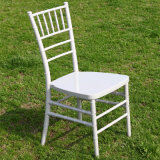 White Cushionの水晶Resin Chiavari Chair