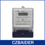 Medidor eletrônico da fase monofásica do fio do painel transparente dois (DDS2111)