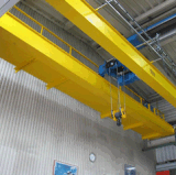 Европейский тип кран электрического двойного прогона надземный перемещая с подъемом веревочки провода