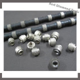 8.5 de 9.0 Gesloten Zaag van de Draad van de Diamant voor het Marmeren Knipsel van het Graniet van de Steen
