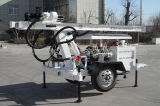 Hf120Wのトレーラーによって取付けられる小さい井戸の掘削装置