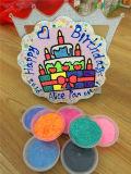 24 arrivi dell'argilla della gomma piuma del pacchetto DIY di colore nuovi scherzano l'argilla magica del polimero della gomma piuma del giocattolo, pasta del gioco