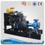Pomp van het Water van de Dieselmotor van de aanhangwagen de Mobiele (35HP45HP50HP) voor Riolering