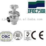 Válvula sanitária do regulador do aço inoxidável (IFEC-RV100001)