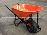 Punho quadrado para o carrinho de mão Wb8601 do Wheelbarrow/roda