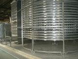 ドラム螺線形のタイプIQFの個々の速いフリーザー