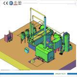 o petróleo 15tpd continuamente Waste gasifica o recicl da máquina