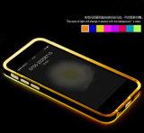 Caixa clara do diodo emissor de luz do caso móvel creativo do projeto para a nota 3 da galáxia de Samsung para o caso móvel da tampa 6s do iPhone 6