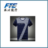 T-shirt simple fait sur commande/T-shirt fait sur commande/T-shirt d'hommes