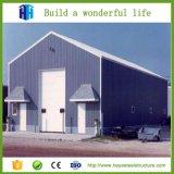 Estructura de acero que construye el almacén prefabricado de varios pisos