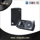 Ps-10 Single 10 Inches tweerichtingsPRO Surround Audio Sound