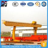 5-50t L grue de portique électrique de port d'élévateur de faisceau simple modèle