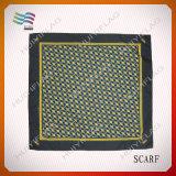Шарф шеи полиэфира хлопка печатание способа цифров Silk (HYS-AF001)