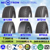 모든 강철 광선 트럭 타이어 12.00r20 13r22.5 315/80r22.5 TBR 타이어