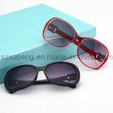 Óculos de sol polarizados elegantes plásticos por atacado das mulheres