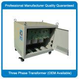 在庫0.5kVA-300kVAの三相隔離の電圧変圧器