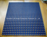 stuoia di gomma dell'erba di sicurezza di 800*800*15mm, stuoia Anti-Fatigue del pavimento della maglia