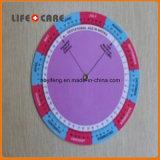 Calculadora da roda da gravidez BMI 4.25 polegadas