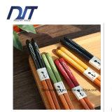Kreative Farben-Fisch-hölzerne Ess-Stäbchen der Entwurfs-japanischen Art-5 eingestellt