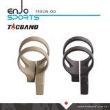 Tacbandのオフセットの戦術的な懐中電燈の台紙Keymodのための戦術的なハンチング懐中電燈1インチのリングのくすんだオリーブ色