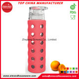 de Fles van het Glas 500ml Borosilicate met Fruit Infuser GB-A2
