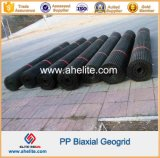 PP Geogrid biaxial para o reforço baixo