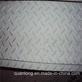 Q235 Ss400 A36 S235jrカーボンチェック模様の床版の重量