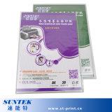 Бумага печатание перехода этикеты скольжения воды Inkjet сделанная белизны