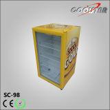 De gele Compacte Kleine Koelkast van de Compressor van het Kabinet (SC98)