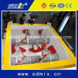 구체적인 1회분으로 처리 플랜트 Ktsa9000/6000를 위한 쌍둥이 샤프트 구체 믹서