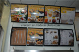 LED Menu Board Publicité Indoor Media Signage Light Box