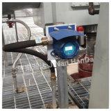 Moniteur fixe de gaz avec l'alarme pour le benzène