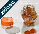 A embalagem do comprimido engarrafa frascos do plástico do animal de estimação dos frascos da embalagem dos doces