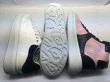 余暇の明白な普及したズック靴(6090)