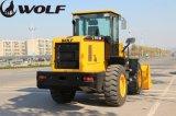 Carregador da roda da máquina Zl30 da construção do lobo com bom preço