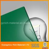 広告するか、またはプラスチックPMMA Pelxiglassボードのための3mmの緑の鋳造物のアクリルシート
