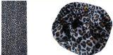 Écharpe 100% de modèle de léopard de polyester (YT-1083)