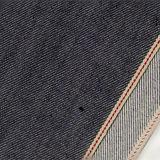 прямо приспособленная ткань 10075 джинсыов Selvedge 11oz